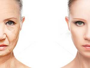 Skin Care Older Woman